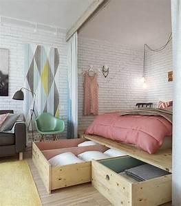 Wohn Schlafzimmer Ideen : die besten 17 ideen zu 1 zimmer wohnung auf pinterest ikea schlafzimmer schlafzimmer ~ Sanjose-hotels-ca.com Haus und Dekorationen
