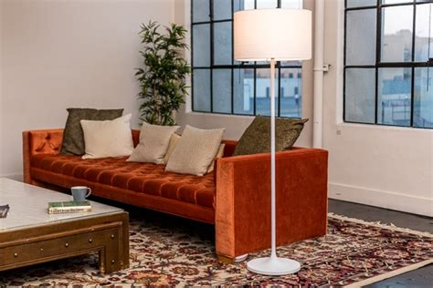 Sofa Floor Lamps Miles Tripod Floor Lamp Pottery Barn