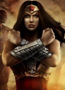 Wonder Woman Comic Art