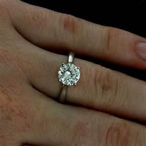 forever brilliant moissanite engagement rings forever brilliant moissanite modern style solitaire 14k white gold engagement ring orospot