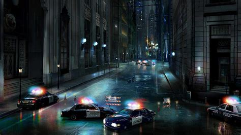 Wallpaper City Police