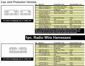 Need Daimler Chrysler Harness Wiring Diagram For Cd Radi