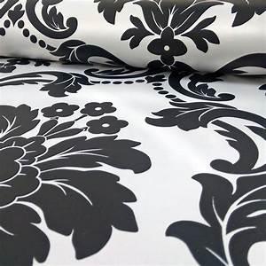 Arthouse romeo damask wallpaper black blush grey