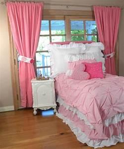 rideaux chambre enfant un element important With rideau rose chambre fille