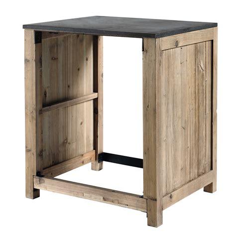 meuble de cuisine en pin meuble de cuisine en pin recyclé pour lave vaisselle l68 copenhague maisons du monde
