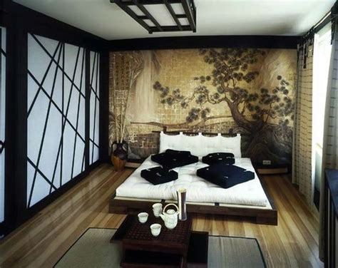 serene and tranquil asian inspired bedroom interiors