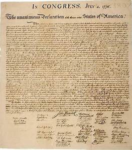 historical document declaration of independence 1843 With american historical documents for sale