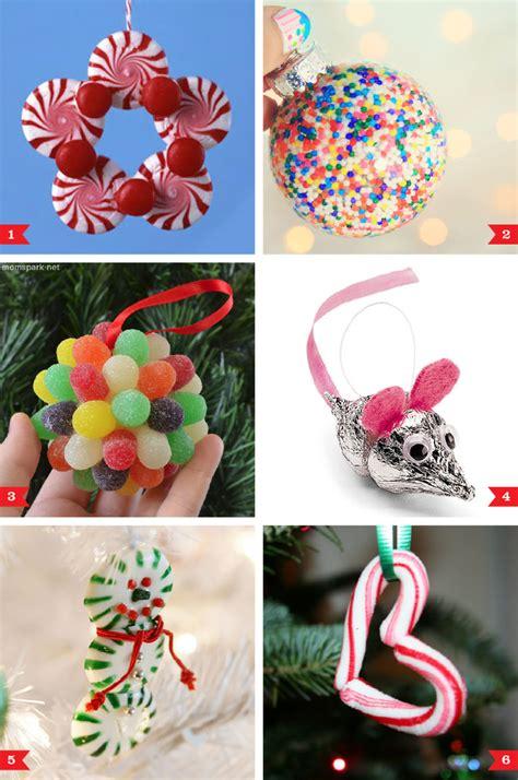 diy christmas ornaments   candy chickabug