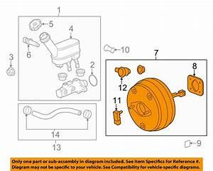 Gm Oem Power Brake Booster 25879631