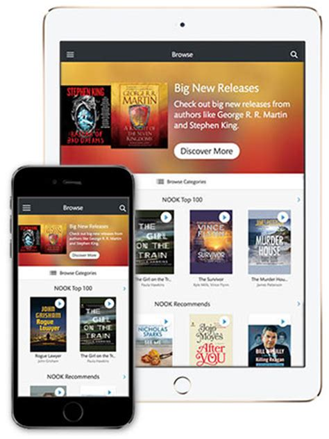 how to access audiobooks on iphone b n launches nook audiobook apps for iphone the