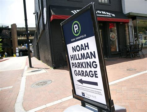 baltimore sun parking garage annapolis parking plan city employees out of hillman