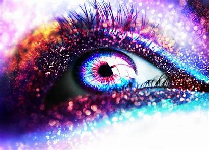 Glitter Eye Unknown Sparkle Eyes Sparkly Colorful