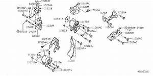 Nissan Maxima Engine Mount  Left  Front   Transmission