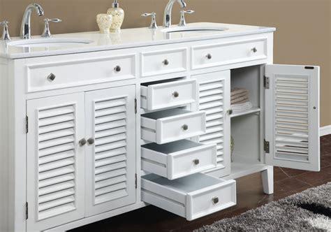 Adelina Inch Antique White Double Sink Bathroom Vanity
