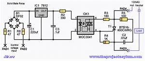 Solid State Relay With 16a Scr Optical Trigger