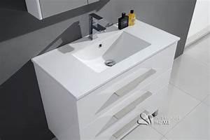 meuble salle de bain a poser au sol With meuble de salle de bain a poser