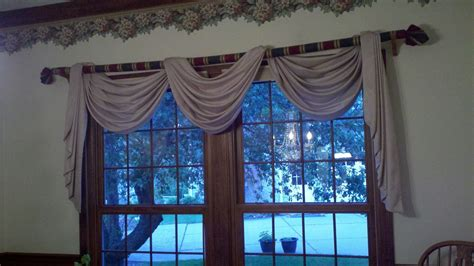 how to hang swag curtains best best 25 scarf valance