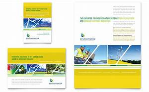 environmental conservation flyer ad template word With 1 2 page flyer template