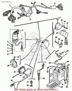 Yamaha Xt500 1976 Dual Purpose Usa Electrical