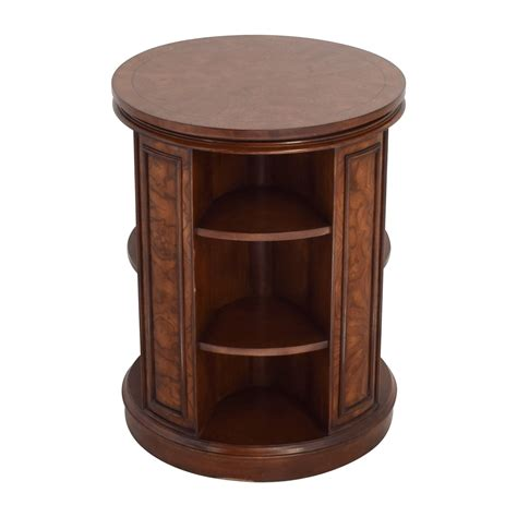 End Table Bookcase by 82 Safavieh Safavieh Rotating Side Table Bookcase