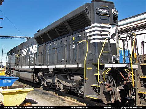 cicil top ns ns locomotive detail photos progress rail pr43c 4000