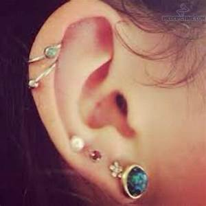 cartilage ear piercing - Google Search | Tattoos and piercings
