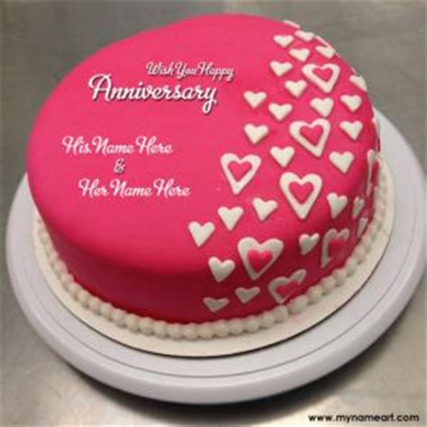 red anniversary cakes  couple  edit   wishes greeting card