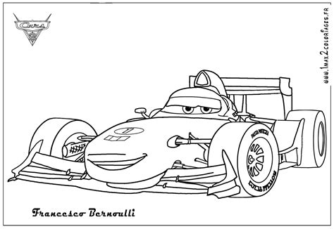 The Gallery For > Cars 2 Coloring Pages Francesco And