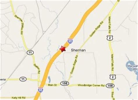 sherman  truck accident map truck accident lawyer news