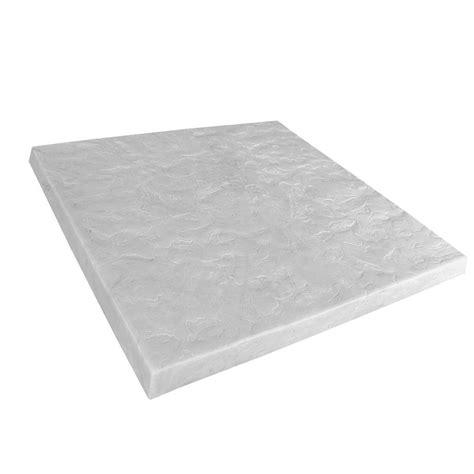 emsco 24 in x 24 in high density plastic resin