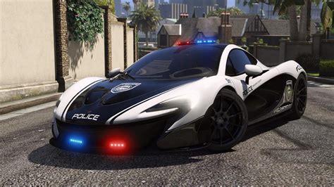 McLaren P1 | Hot Pursuit Police [Add-On / Replace ...