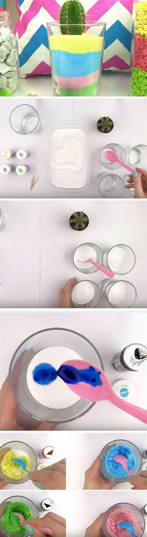 colored sand jar click pic for 20 cool diy projects for
