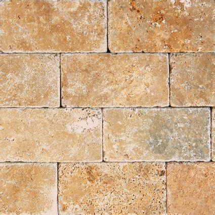 tuscan tile tuscany gold 3x6 tumbled tile colonial marble granite