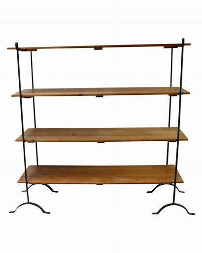 French Shelves Farmhouse Country Iron Wood Display
