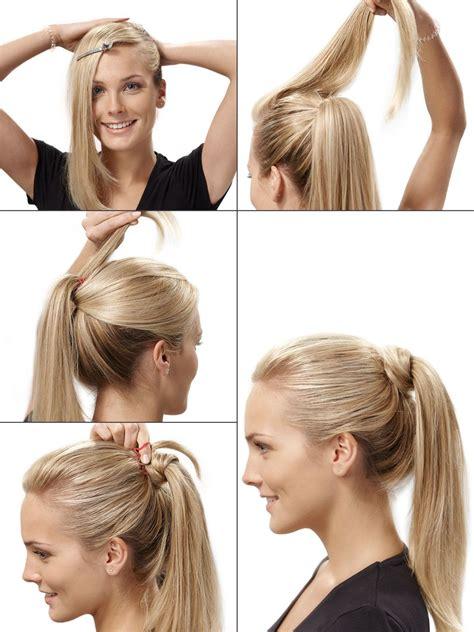 festlicher pferdeschwanz hairstyles