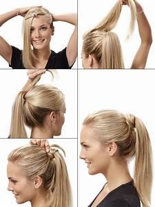 Einfache Hochsteckfrisuren Dünne Haare : festliche frisuren festfrisuren selber machen hair styles pinterest pferdeschwanz ~ Frokenaadalensverden.com Haus und Dekorationen