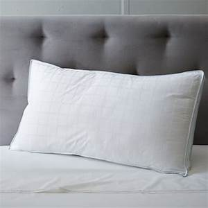 Classic pillow insert cooling down alternative west elm for Best down pillow inserts
