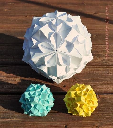 unique origami ball ideas  pinterest paper balls