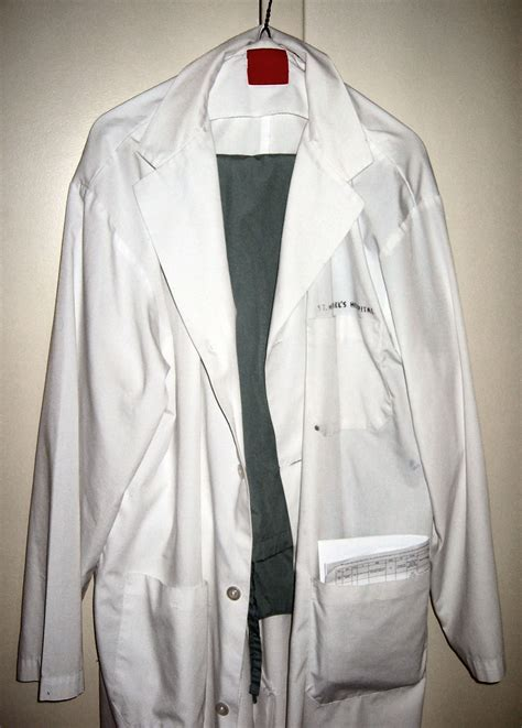 definition of blouse white coat