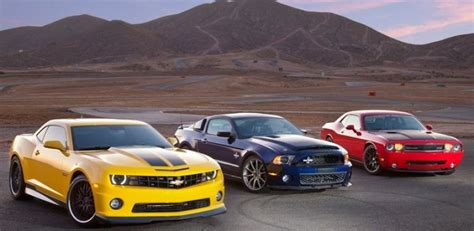 modern muscle car wars