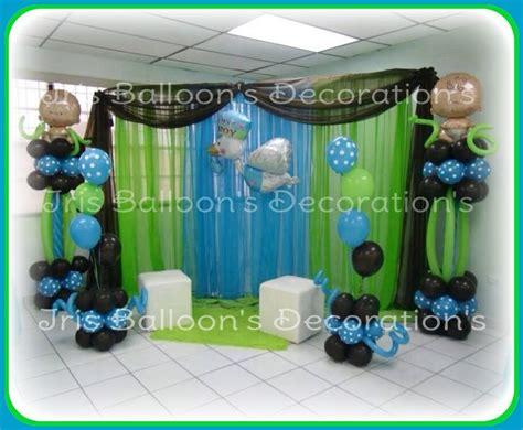 baby shower de ni 241 o decoraciones con globos hechos por iris balloon s decoration s