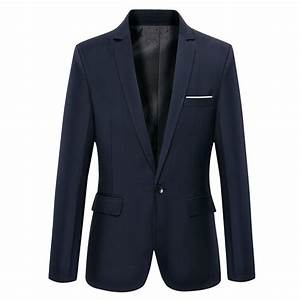 7 Colors Men Suit 2016 New Arrival Navy Blue Blazer Men