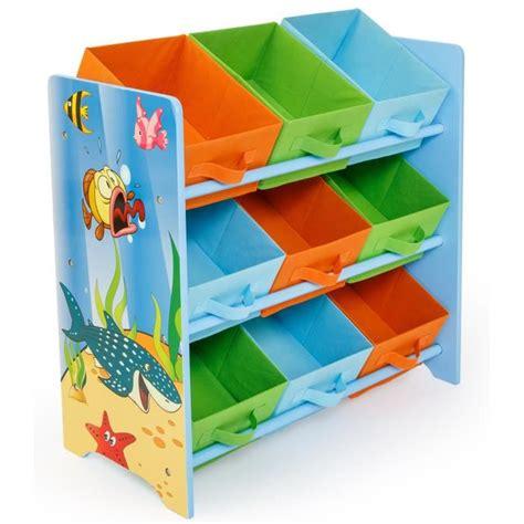 meuble de rangement pour chambre bébé meuble de rangement pour enfant motif poissons achat