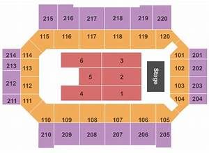Reed Arena Seating Chart Broadmoor World Arena Tickets In Colorado Springs Colorado
