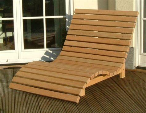 Relaxliege Aus Eiche  Die Holzfabrik
