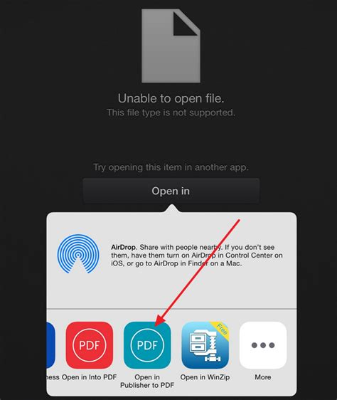 how to open a pdf on iphone how to open the publisher pub file on your or iphone