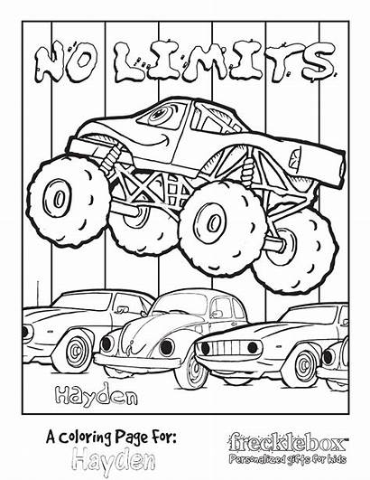 Coloring Monster Jam Digger Printable Colouring Sheets