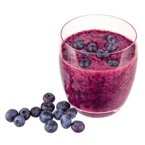 juice blueberry smoothie benefits blueberries contain ingredients frozen banana fresh energizing blaubeeren fruits many body