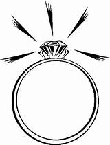 Ring Engagement Clipart Diamond Rings Coloring Cliparts Clip Marriage Heart 401k Readings Religious Elegant Non Decorate Coloringpagesfortoddlers Sparkling Beginning Clipartion sketch template