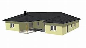 Atrium Bungalow Grundrisse : winkelbungalow 191 24 ba mit einliegerwohnung und atrium neubau einfamilienhaus massivhaus ~ Bigdaddyawards.com Haus und Dekorationen